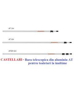 "Bara telescopica din aluminiu seria ""AT"" de 6 m PROFESIONALA Castellari"