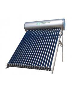 Sistem solar compact presurizat SPTV300 30 tuburi vitate heat pipe + boiler inox 300 L