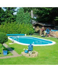 Set piscina ovala 1 m³