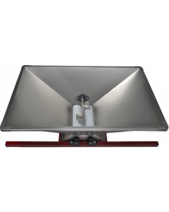 Zdrobitor struguri mare manual cuvă inox 950 X 600 mm