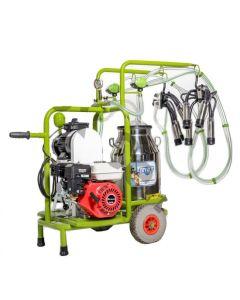 Mulgatoare vaci  Milka 2 inox cu motor pe benzina