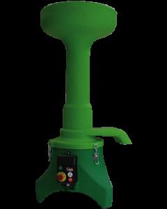 Taietor centrifugal fructe cutite inox  220 V 2.2 KW 800 kg/ora
