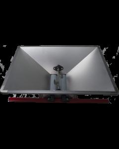 Zdrobitor struguri mic manual cuvă inox 800 X 500 mm