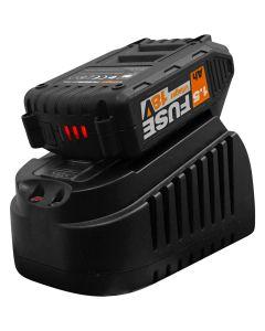 Set power bundle Villager FUSE baterie 1.5 Ah incarcator 1.65 A