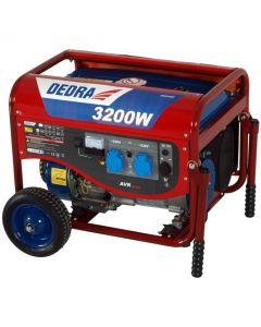 Generator Dedra DEGB3600K Capacitate rezervor 15 L Tensiune curent 230V  Putere 3200W