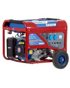 Generator Dedra DEGB6500K Capacitate rezervor 25 L Tensiune curent 230V  Putere 5500W