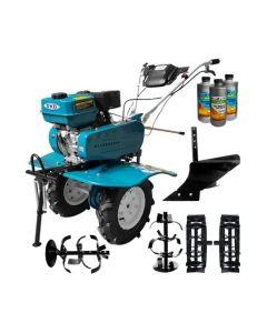 Motosapa DAKARD HS 900 7 CP + plug arat + roti metalice + Cadou 1l ulei motor+ 2l ulei transmisie AgroPro