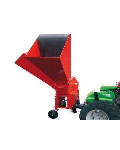 Tocator de crengi si resturi vegetale Caravaggi BIO 150 la priza de putere a tractorului