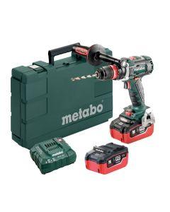 Masina de gaurit / insurubat Metabo BS 18 LTX BL QI 5.5 LiHD cu 2 acumulatori si incarcator